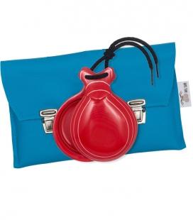 Castagnettes Espagnoles Fibre de Verre Rouge