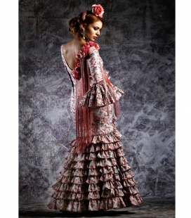 Robe De Flamenco Clavellina