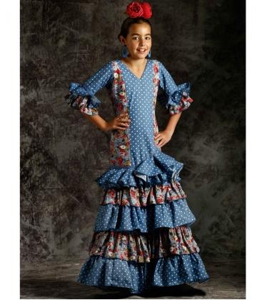 3822865085b35 Robes de flamenco pour Filles 2019 - El Rocio
