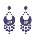 Boucles de Flamenco Femme