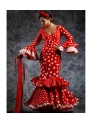 Robe Espagnole De Flamenco Quema