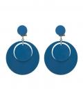 Boucles d'oreilles Flamenco Rondes