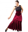 Jupes de Danse Flamenco En Velours - COLEURS PROMOTIONS