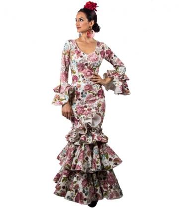 Robe Espagnole de Flamenco, Taille 44 (L)