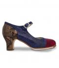 Chaussures De Flamenco pour Professionnelle Sandalo
