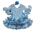 Robe Espagnole Fille, Taille 4