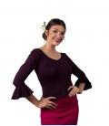 Hauts en tricot de danse flamenco