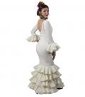 robes de flamenco beige