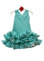 Robes De Flamenco Pour Fille AMOVIBLE , Taille 4