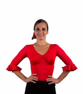 top pour flamenco danse