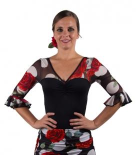 maillot pour danse flamenco