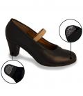 chaussure flamenco en cuir