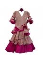 Robe Espagnole Fille pas cher, Taille 4