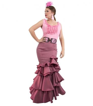 jupe de flamenca rouge