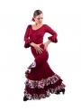Conjunto de baile flamenco modelo estrella