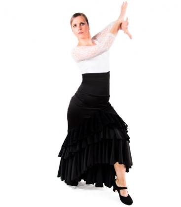 Jupe de flamenco pour danse