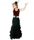 Jupe de Flamenco Azucena, C/Haute