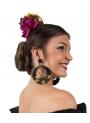 Boucles d'oreilles Flamencos Doublées