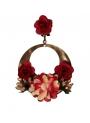 boucles d'oreilles flamencos pour femme