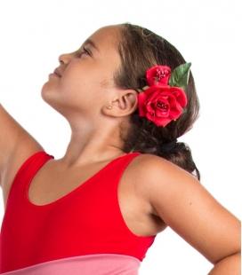 Fleurs de flamenco pour filles