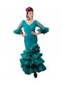 Robe espagnole de Flamenco, Taille 38 (M)