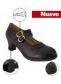Flamenco Chaussures à semelle double Sans Clous