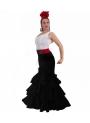 Jupe de Flamenco Azucena, Taille 2XL