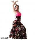 Jupes de Danse Carmen Motif Floral