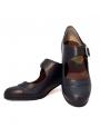Chaussures de flamenco semi-professionnelles en cuir