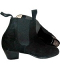 Bottines Flamenco Professionnelle, en daim