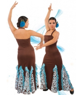 Robe de danse flamenco