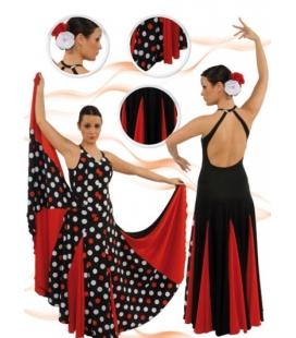 Vêtement de danse flamenco mod. E-4286