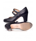 Chaussure de danse flamenco en cuir 573064