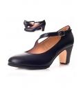 Chaussure de danse flamenco en cuir 573061