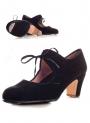 Chaussure de danse flamenco, avec blouces