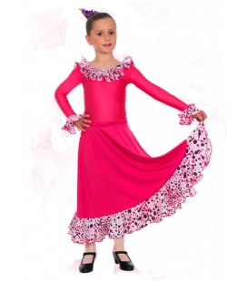 Jupe de flamenco, modèle EF008