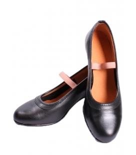 Chaussures Flamenco en Cuir avec Clous