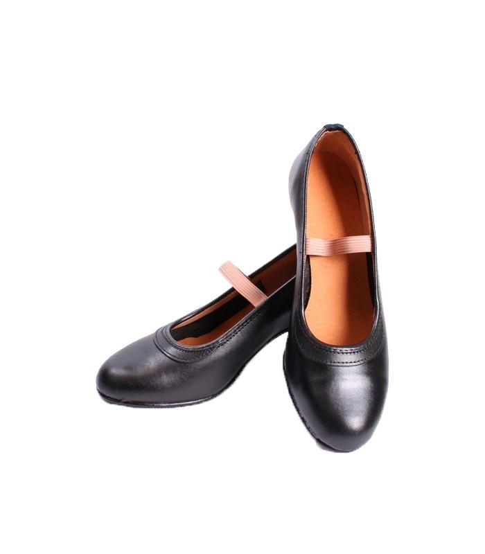 f9be150aeb1666 Chaussures de flamenco femme semi-professionnelles en cuir