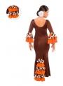 Jupe de flamenco pour filles, modèle EF072