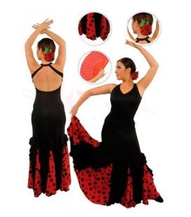 Jupe de flamenco filles EF077
