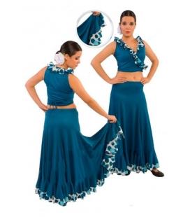 Jupe de flamenco pour filles EF092