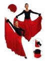 Jupe de flamenco filles EF105