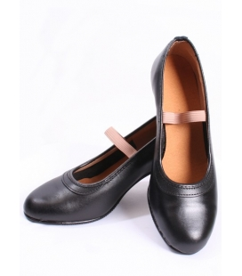 Chaussures Flamenco Cuir Sans Clous
