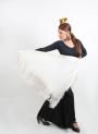 Châle Uni De Danse Flamenco