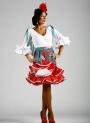 Jupe de flamenco tamara