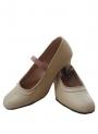 Chaussures Flamenco Cuir avec Clous