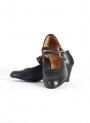 Chaussures Flamenco en Cuir 2 Sangles