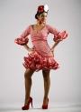 Robe Flamenca Saison 2016 Carmín