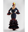Robe flamenca Esmeralda