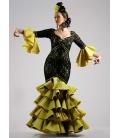 Robe De Flamenco Femme Zahara